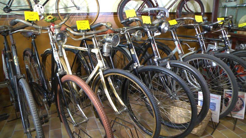 Alt , schön und inzwischen schwer angesagt: Nostalgie-Fahrräder
