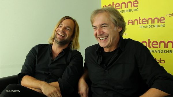 Das Wort Restmusiker erheitert Tim Wilhelm und Michael Kunzi von der Münchener Freiheit.