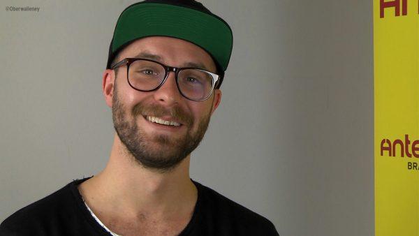 Mark Forster im Videointerview bei Antenne Brandenburg.