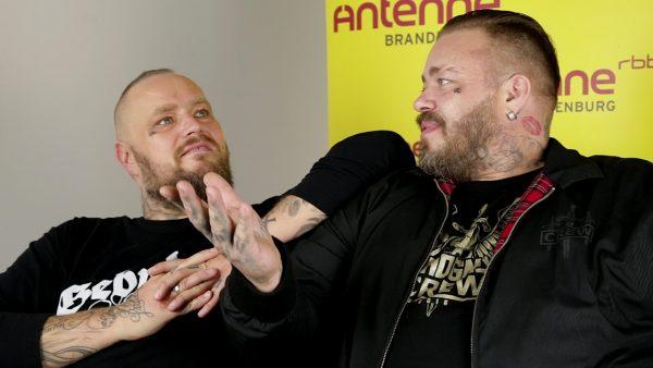 Sven Gillert und Hagen Stoll sind Haudegen. Zwei Seelenverandte und beste Freunde.