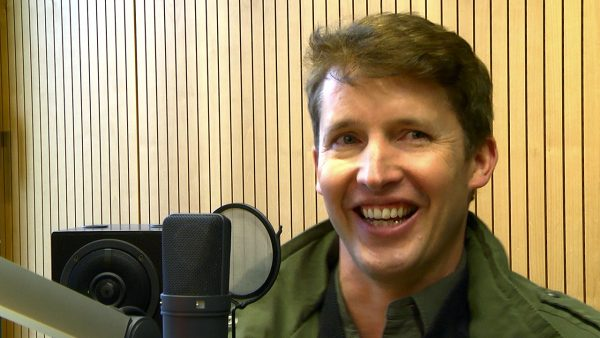 James Blunt im Antenne Brandenburg Interview.