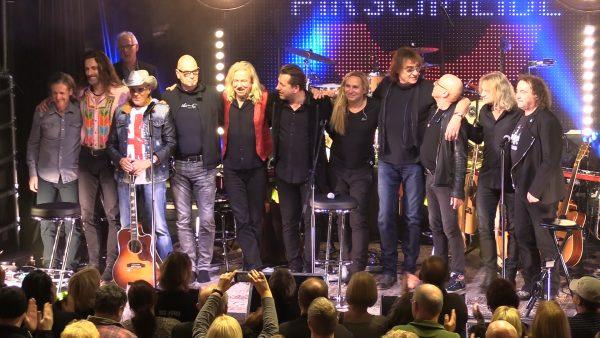 Bevor es 2018 auf Tour geht, gaben die Rocklegenden in Potsdam ein exklusives Antenne Brandenburg Hörerkonzert.