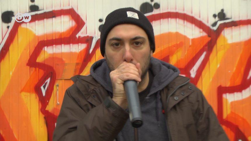 Alles mit dem Mund. Beim Beatboxen imitiert Daniel Mando Mandolini alle Geräusche mit dem Mund.