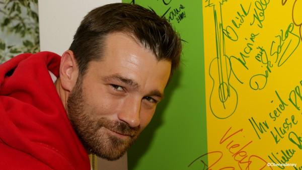 Achim Petry, der Sohn von Wolfgang Petry zu Gast bei Antenne Brandenburg