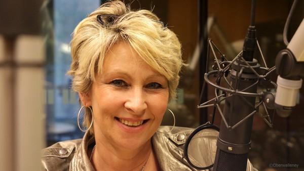 Claudia Jung zu gast bei Antenne Brandenburg