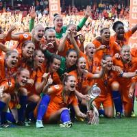Frauenfußball EM 2017. Die Holländerinnen habe es geschafft. Sie sind Europameister!