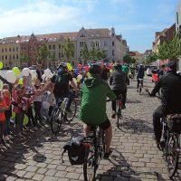 Tour de Prignitz 2019, Einfahrt in Wittenberge